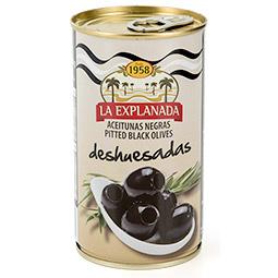 Aceitunas negra deshuesada