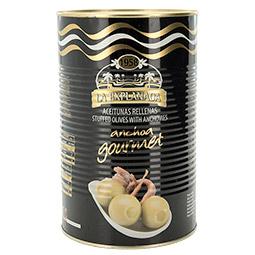 Aceitunas rellenas La Explanada calidad gourmet Formato 5Kg