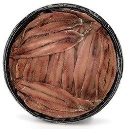 Anchoa mariposa salmuera limpia cantabrico 40 piezas