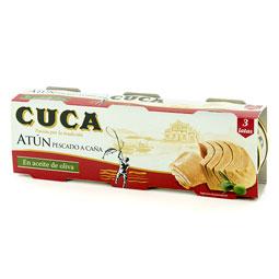 Atún 144Gr. pack 3 en aceite de oliva CUCA