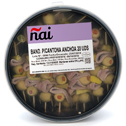 Banderilla picantona de anchoa 20Uds