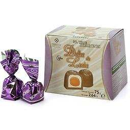 Baúl de bombones de dulce de leche 9 Bombones
