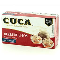 Berberecho Cuca 120 Gr 20/35 piezas al natural