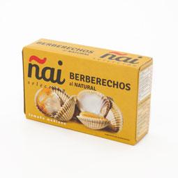 Berberecho mediano elaborado en Galicia