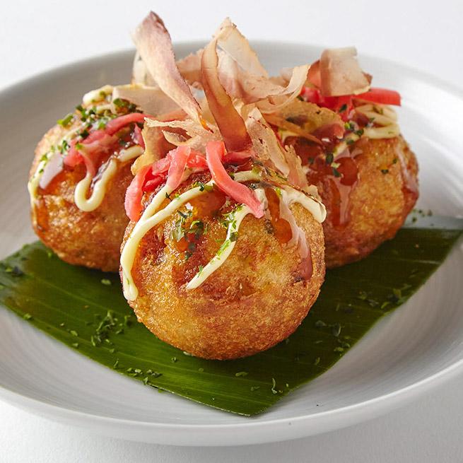 Bolitas de pulo (Takoyaki) 16Uds de 30Gr