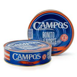 Bonito Campos en Salsa sin Sangacho 1800 g.