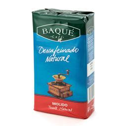 Cafe Molido Descafeinado Natural Baqué 250Gr