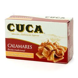 Calamar 120Gr en salsa americana CUCA