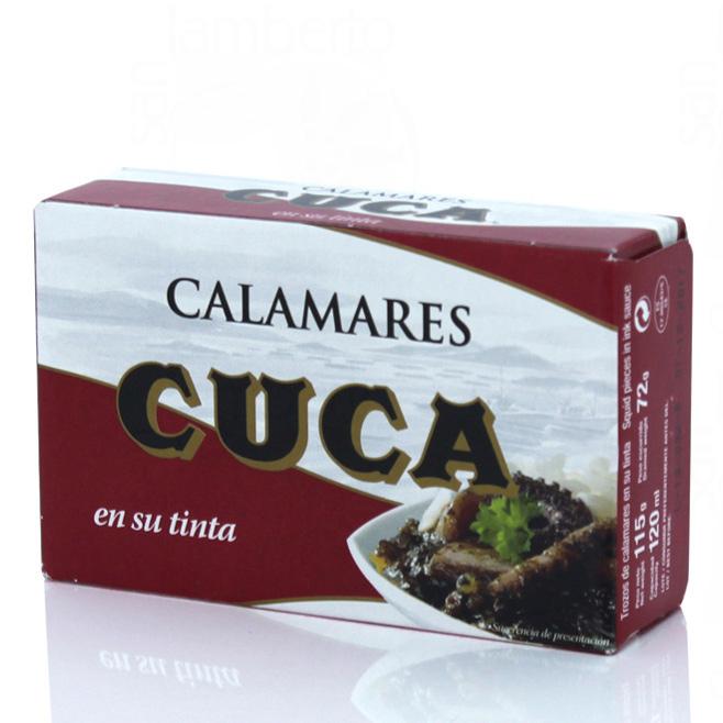 Calamar 120Gr tinta CUCA