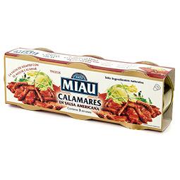 Calamar en salsa americana Pack de 3
