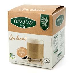 Capsula Café Con Leche Baqué (Dolce Gusto) 10Uds