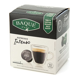 Capsula Café Intenso Baqué (Dolce Gusto) 10Uds