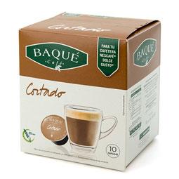 Capsula Café Cortado Baqué (Dolce Gusto) 10Uds