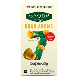 Capsula Café Gran Aroma Baqué (Nespresso) 10Uds