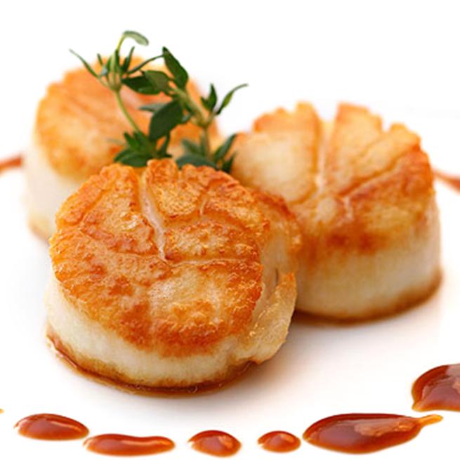 Carne De Vieira Sin Coral De Menos De 27 Piezas 1kg Congelado