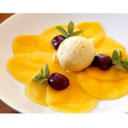 Carpaccio de mango 10 raciones 80Gr