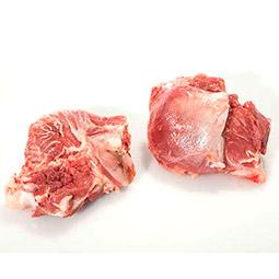 Carrillera de cerdo con hueso