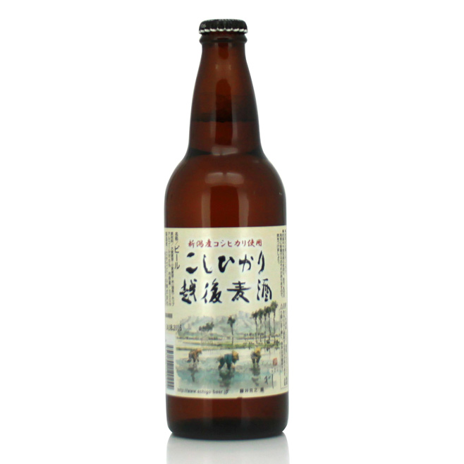 Cerveza japonesa ECHIGO KOSHIHIKARI 500Ml