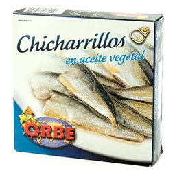 Chicharrillo en aceite 280Gr Orbe