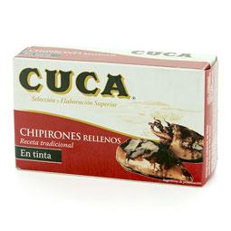 Chipiron 120Gr en su tinta 4/6 piezas CUCA