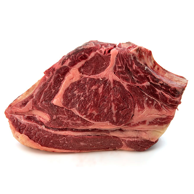 Chuletón de vaca madurado fresco Premium +- 25 días de maduración 1,2Kg aproximado