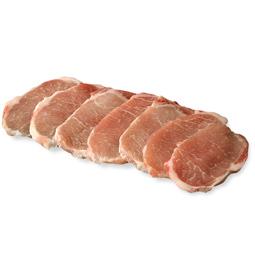 Cinta de lomo de cerdo Duroc 100% natural fileteada 800Gr