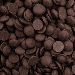 Cobertura de chocolate negro 72%