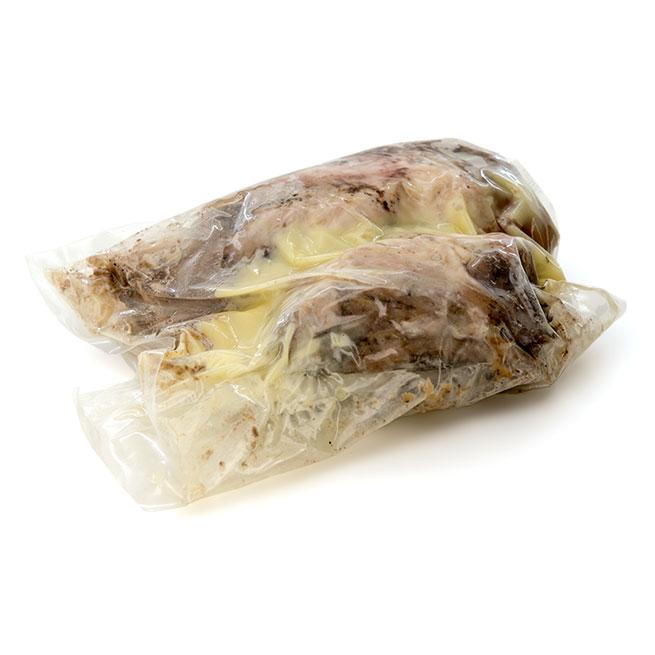 Codillo de cerdo asado en aceite de oliva