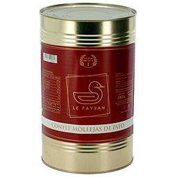 Confit de Mollejas de Pato +-90 uds en lata