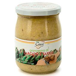 Crema de alcachofas con trufa