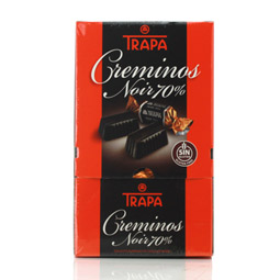 Dispensador creminos Noir 70% Trapa 800Gr