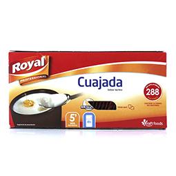 Cuajada royal para 288 raciones
