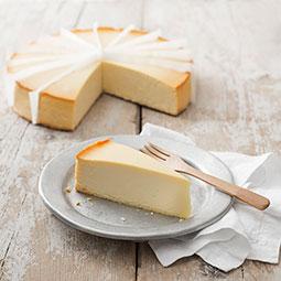 Dulce tipico de New York preparado con crema de queso sobre base de bizcocho Bindi precortado 16 raciones
