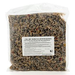 Ensalada de algas hijiki con quinoa