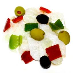 Ensalada de Bacalao en aceite de oliva 4 Kg.