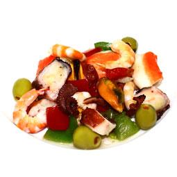 Ensalada de Marisco en aceite de oliva 250Gr