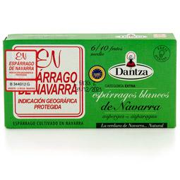 Esparrago blanco navarro D.O. 6/10 frutos