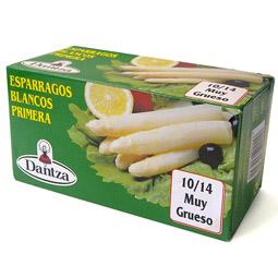 Esparrago blanco primera navarro 10/14 frutos