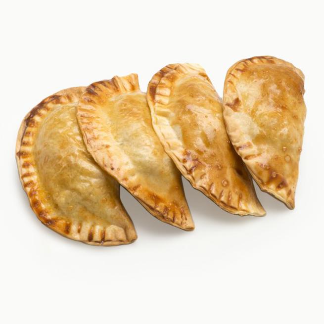 Exquisita empanadilla rellena de bogavante