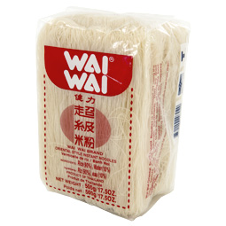 Fideos de arroz wai wai 500gr