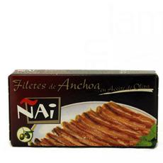 Filete anchoa en aceite de oliva Cantábrico 50Gr  Ñai Selección