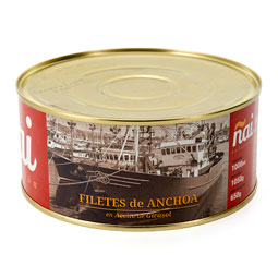 Filete de anchoa 1150Gr Ñai