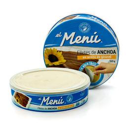 Filete de anchoa 550Gr Menu
