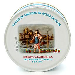 Filetes de anchoa en aceite de oliva del Cantábrico 1150 g.