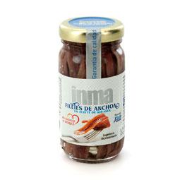 Filetes de anchoa en aceite vegetal cantábrico