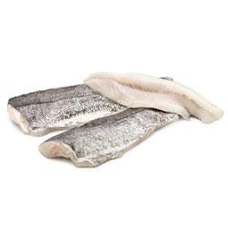 Filetes de merluza con piel 1Kg