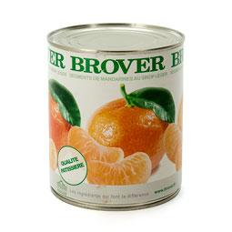 Gajos de mandarina en almíbar calidad Extra