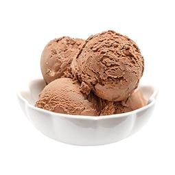 Helado de chocolate con avellanas 100% artesano 2,5Ltrs