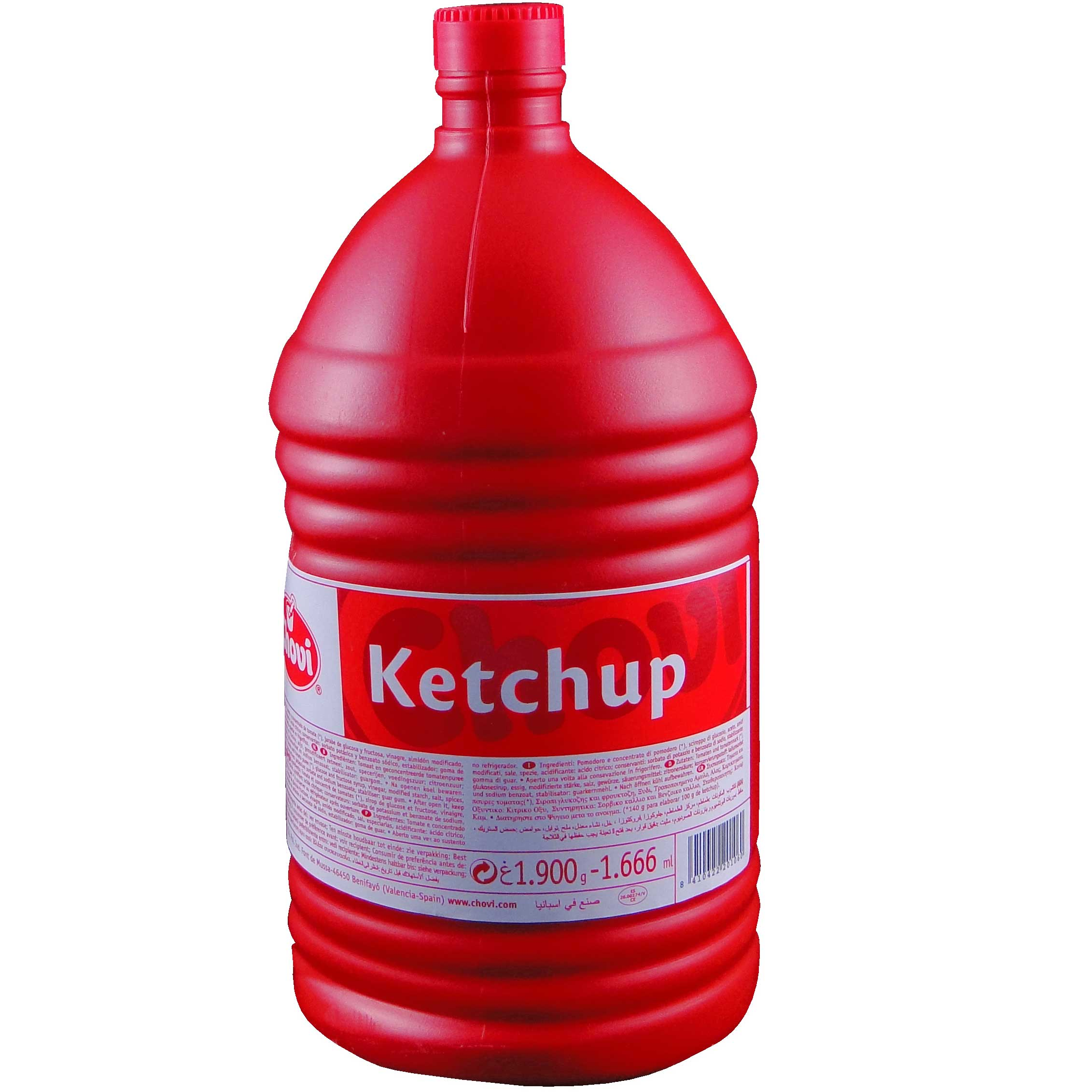 Ketchup plus  chovi 1.900Gr