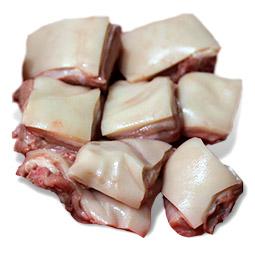 Lechona de cerdo troceada